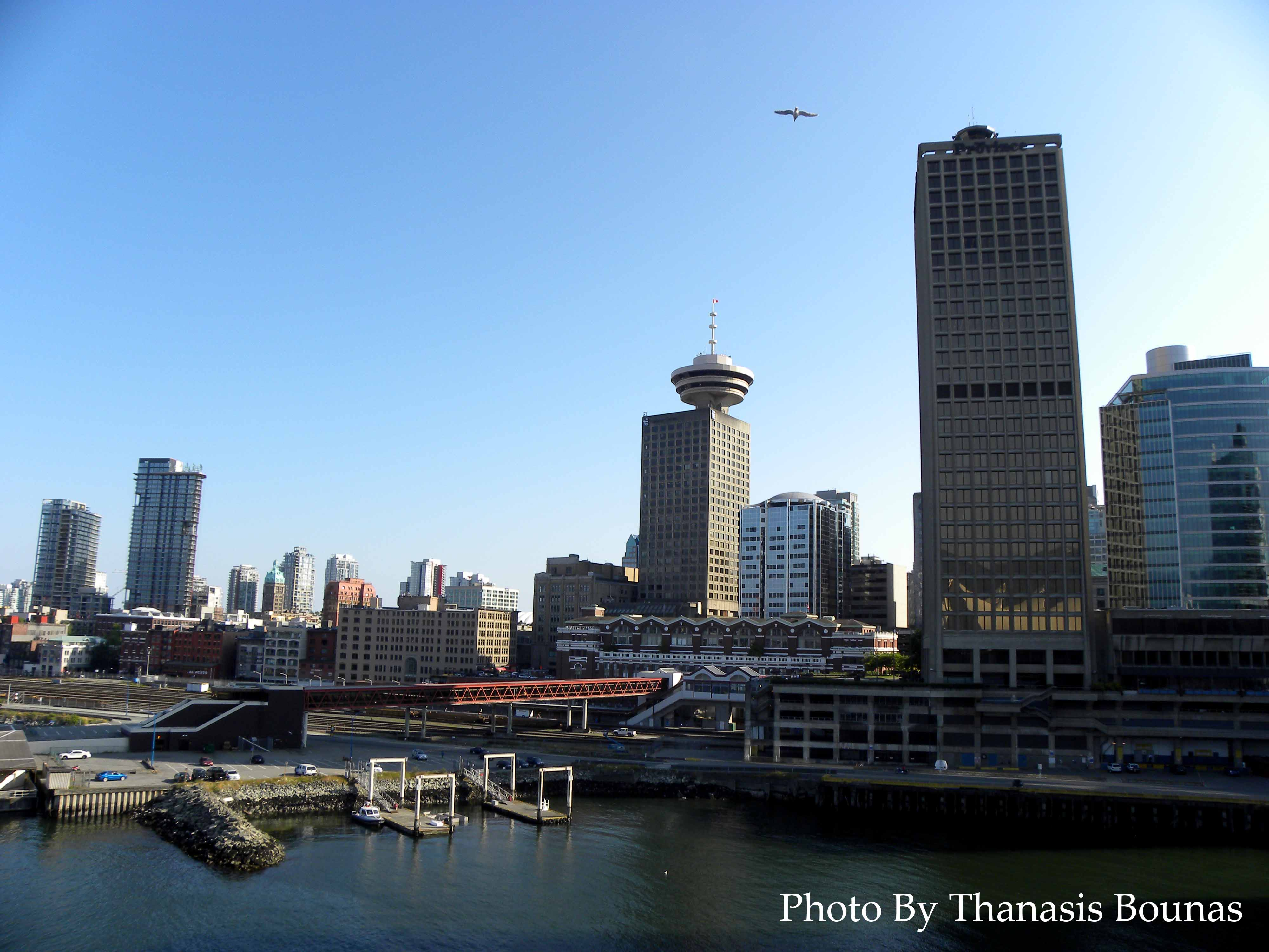 38 Downtown Vancouver Beautiful British Columbia Photo By Thanasis Bounas