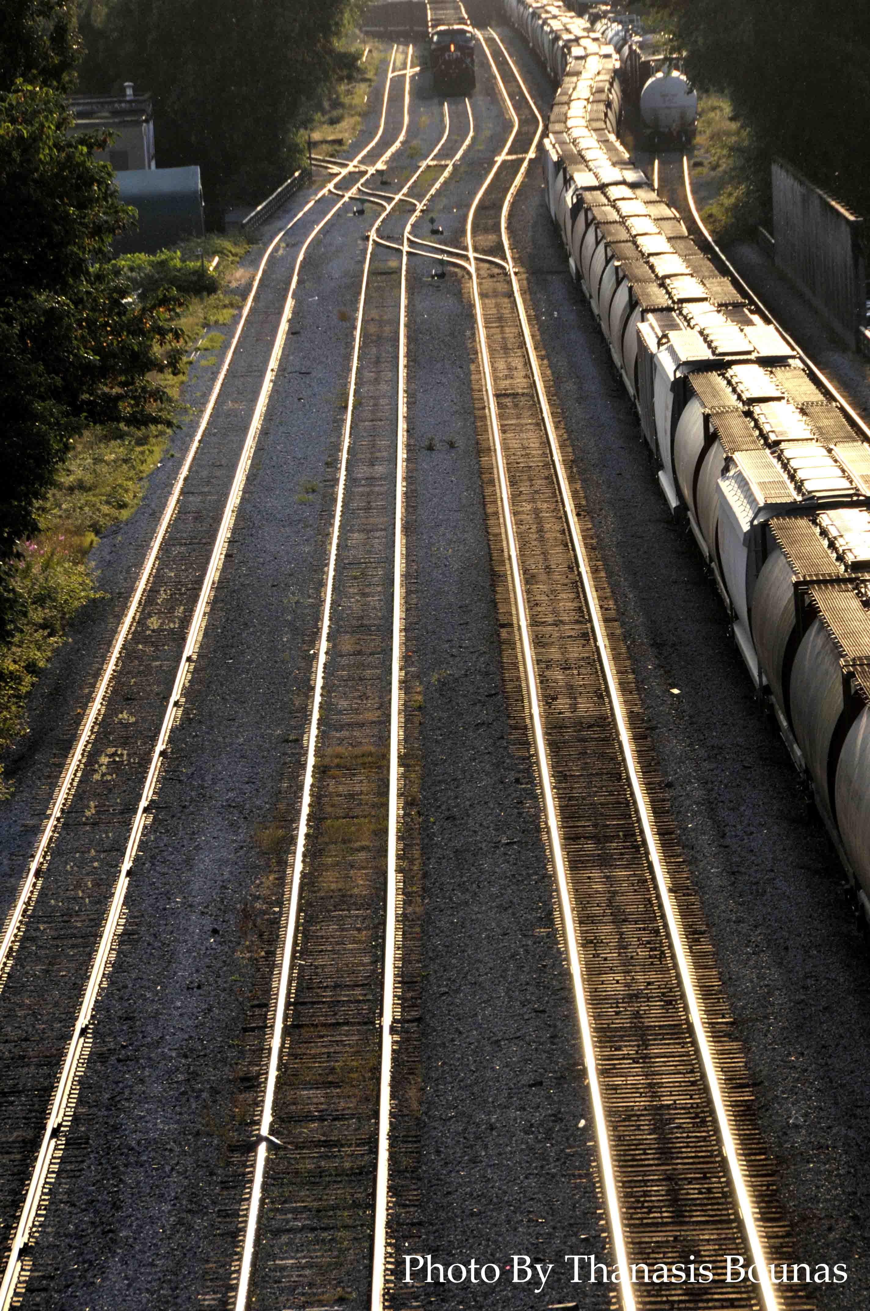 11 Trains Beautiful British Columbia Photo By Thanasis Bounas