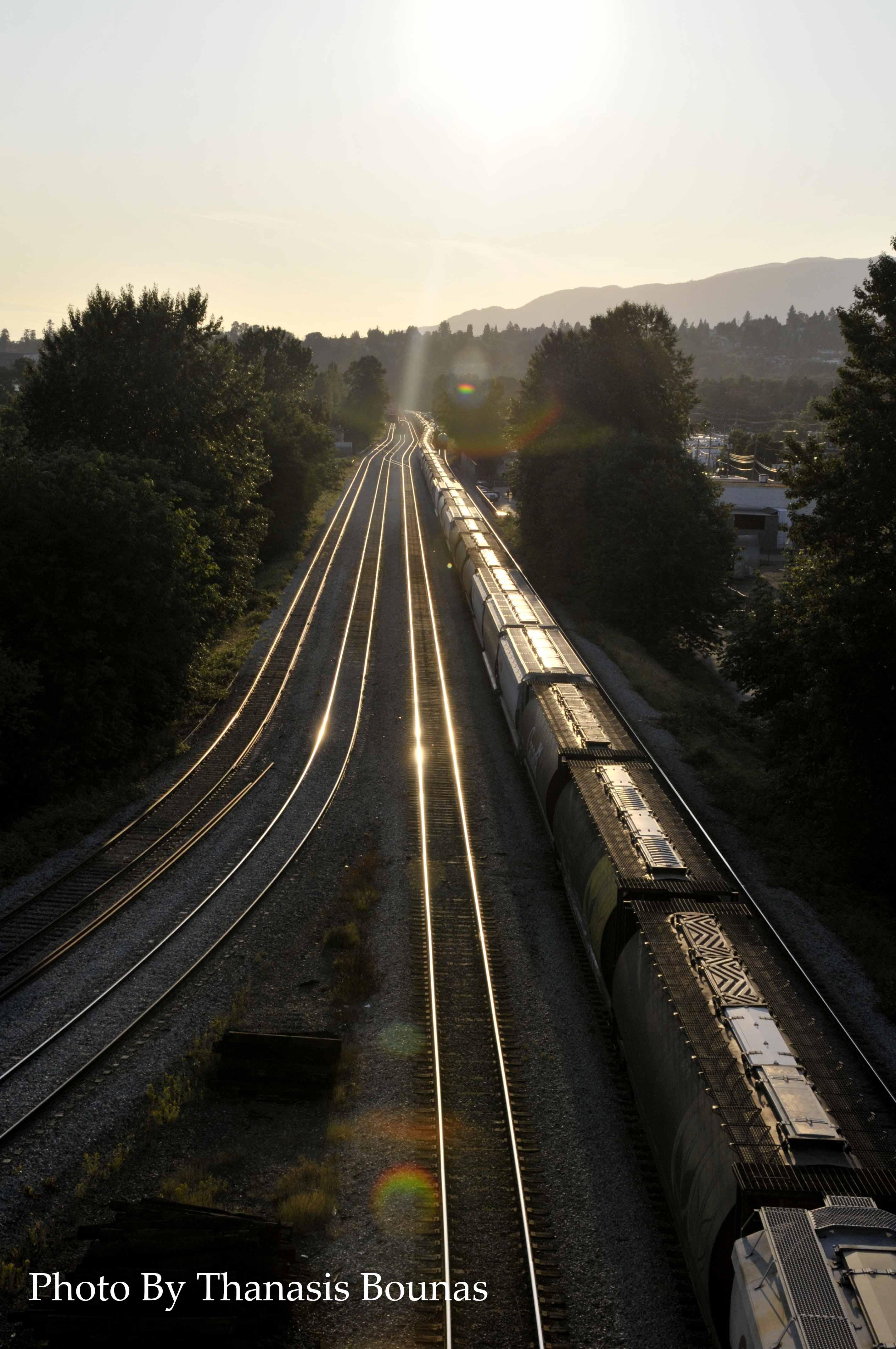 13 Trains Beautiful British Columbia Photo By Thanasis Bounas